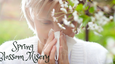 Spring Blossom, Pollen, and Mold? TriEase® Comfort!